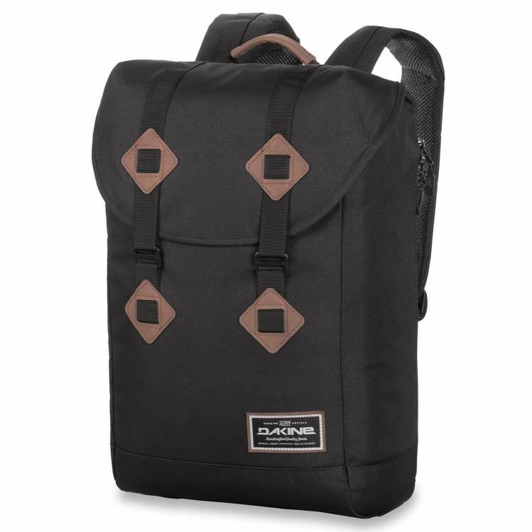 Stylový batoh s přihrádkou na notebook Dakine Trek 26L Black  d1f10d119a